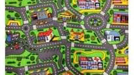 Dětský koberec City life 133x165 cm