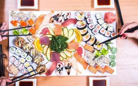 Sushi sety v centru Brna: 30, 49 nebo 69 rolek