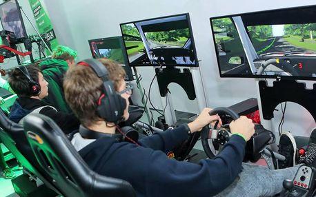 Vstup na pohyblivé závodní simulátory pro 1-3 os.