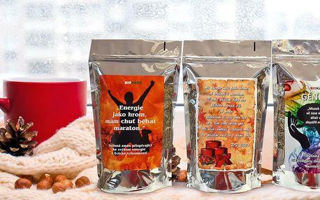 200g balení bylinkových čajů na energii i paměť