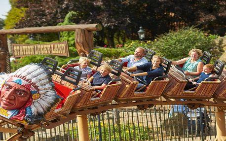 Zábavný den v zábavním parku Heide Park v Německu včetně vstupenky