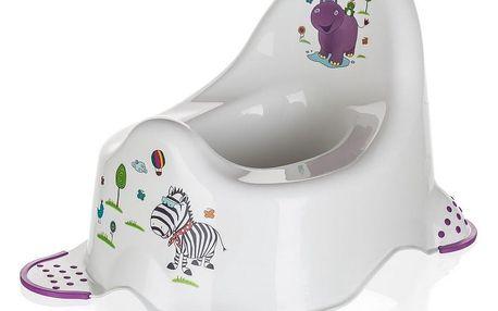 Keeeper nočník Hippo bílá