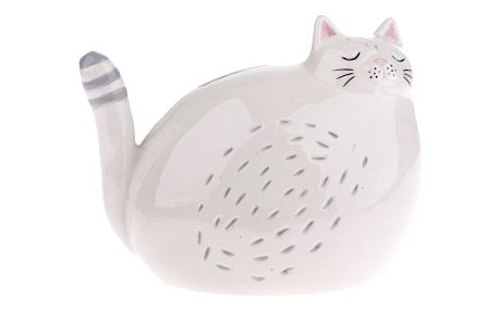 Keramická dekorační kasička Kočka, 17,7 x 13,7 cm