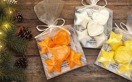 Sada vonných vosků do aromalampy: skořice i pomeranč
