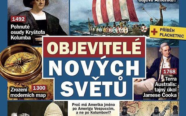 Kompletní ročník magazínu Živá historie 2020 se spoustou dárků5