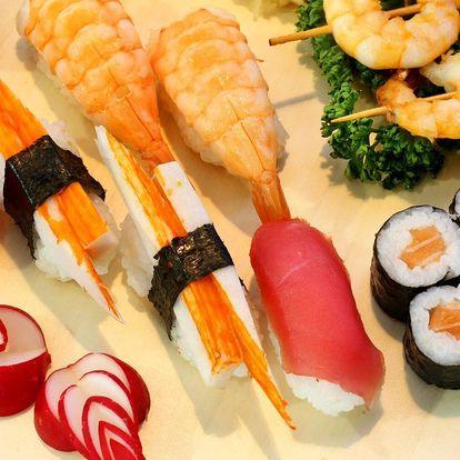Sushi podle chuti: otevřené vouchery 300 i 500 Kč