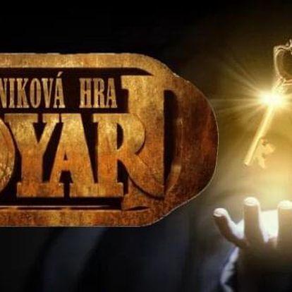 Únikovka Pevnost Boyard v kavárně až pro 4 hráče