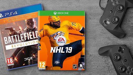 Pařby od EA Games: Sims, Battlefield i FIFA a NHL