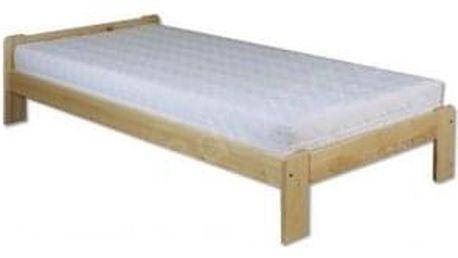 Dřevěná postel 80x200 LK123 borovice