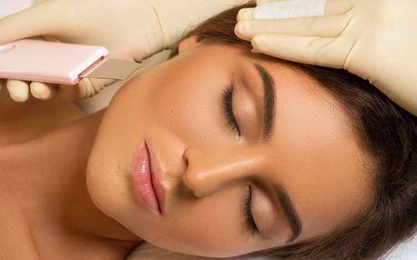 Kosmetické ošetření pleti včetně masáže obličeje