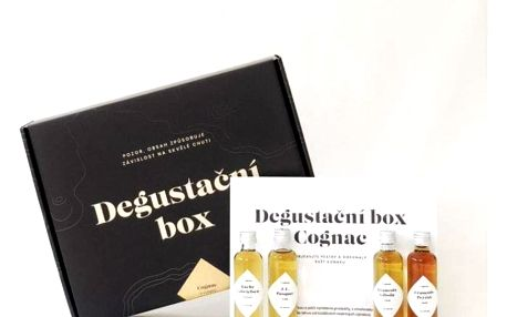 Degustační box Cognac: 5 vzorků