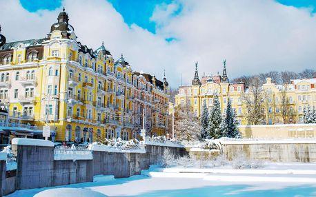 Hotel Poštovní dvůr v Mariánských Lázních s polopenzí a wellness