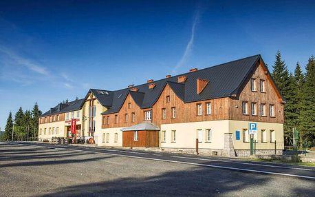 Polské Krkonoše na hranicích s Českem blízko ski areálu: Hotel Biathlon Jakuszyce *** s wellness a polopenzí