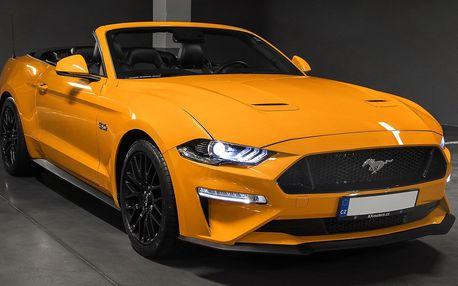20–60 min. řízení nejnovějšího Mustangu GT 5.0 Cabrio