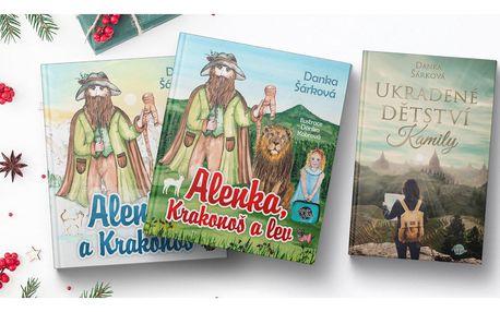 Knižní dárky pro děti i dospělé od Danky Šárkové