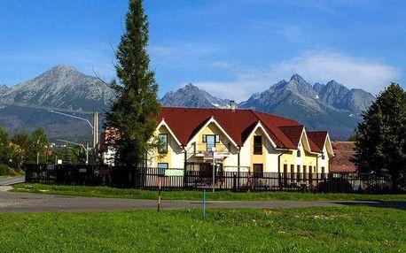 Pobyt s výhledem na Tatry pro 2 osoby