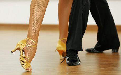 3 lekce společenských tanců i nápoje
