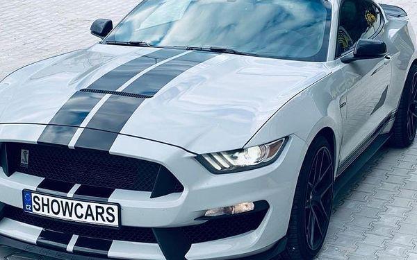 Jízda ve Ford Mustang GT350 SHELBY bez PHM, cca 20 min jízda (16 km) + instruktáž, počet osob: 1 osoba, Praha (Praha)4
