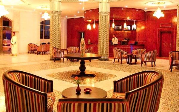 Hotel Omega, Agadir, letecky, polopenze5