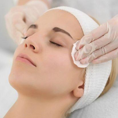 Kosmetické ošetření pleti vč. spa masáže obličeje