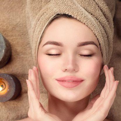 60minutová masáž a kosmetické ošetření dle výběru