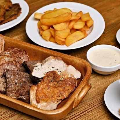 Masové hody pro dva: steaky ze 4 druhů masa