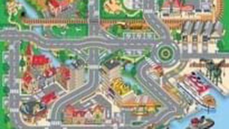 Dětský koberec Hrací koberec Město s přístavem 1001063 koberec