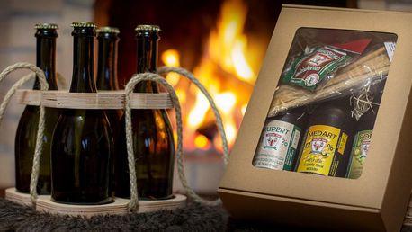 Dárkové sady skvělých piv z Velkorakovského pivovaru