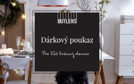 Dárkový poukaz do Butlers v hodnotě 500 až 1000 Kč