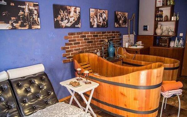 Poděbradské lázně ve stylu Postřižin: Pivní koupel s neomezenou konzumací piva, až 5 procedur + snídaně