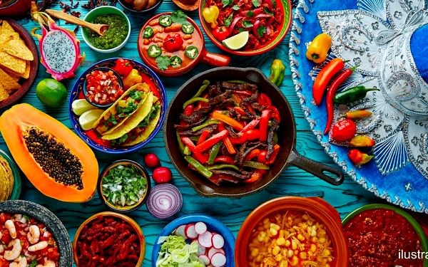 Cokoli z menu mexické restaurace v centru Liberce