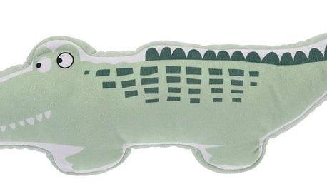 Plyšový krokodýl, 40 x 50 x 9 cm