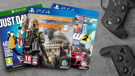 Nálož her od Ubisoftu: střílečky, závodní, taneční