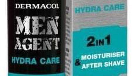 Dermacol Men Agent Hydra Care 2in1 50 ml hydratační pleťová péče a péče po holení pro muže