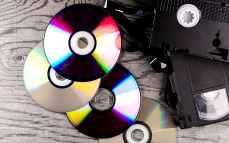 Převod 60 minut záznamu z VHS kazety