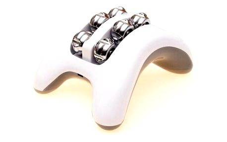 Modom SJH 308 Masážní vibrační přístroj na nohy, bílá
