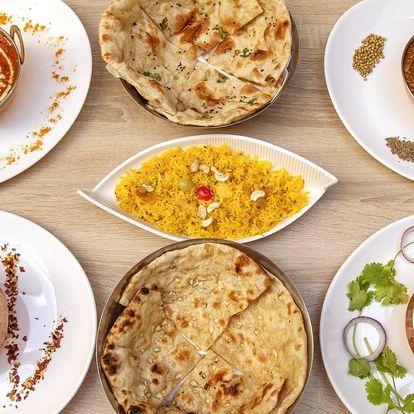 Chuť Indie: otevřený voucher na 500 i 1000 Kč