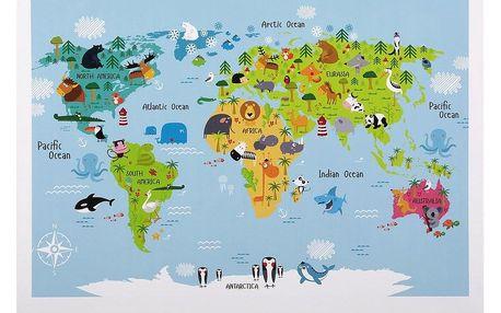 Obraz S Napínacím Rámem World