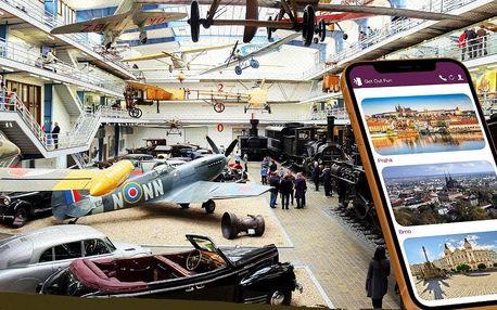 Mobilní hra v technickém muzeu až pro 4 osoby