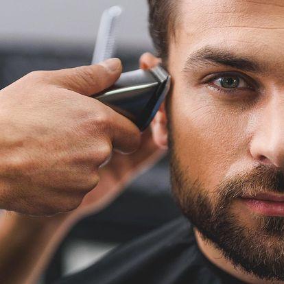 Kompletní pánský střih včetně úpravy vousů