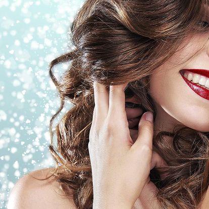 Střih, masáž hlavy i styling pro všechny délky vlasů