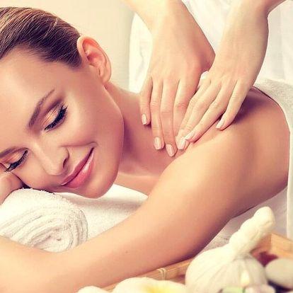 60minutová masáž nebo kineziologie dle výběru