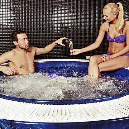 120 min. relaxace v saunovém světě a vířivce pro dva