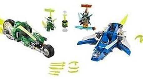 LEGO Ninjago 71709 Rychlá jízda s Jayem a Lloydem