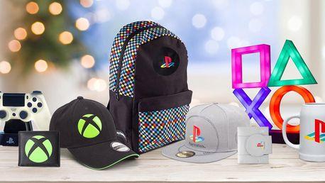 Licencované dárky pro pařany: Playstation i Xbox