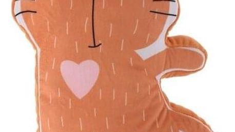 Plyšová kočka, 40 x 50 x 9 cm