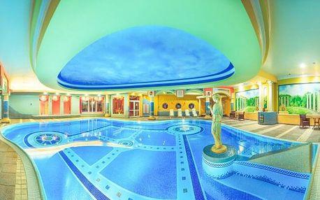 Polsko blízko hranic v Papuga Park Hotelu **** s neomezeným orientálním wellness (2 400 m²) a polopenzí