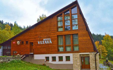 Relaxace v Hotelu Vltava v Krkonoších pro 2 + 2 děti do 15 let zdarma