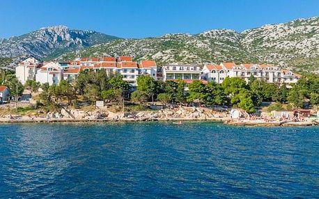 Chorvatsko jen 100 m od moře v Hotelu Zagreb *** s bazény a all inclusive či polopenzí + dítě do 12 let zdarma