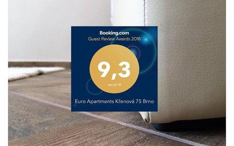 Brno: Euro Apartments Křenová 75 Brno